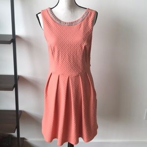 NWT Francesca's Coral dress